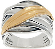 Or Paz Sterling Silver Polished Highway Ring - J357144