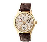Reign Bhutan Automatic Watch - Goldtone/Silver - J380344