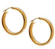EternaGold 1-3/4 Bold Polished Hoop Earrings 14K Gold - J392044