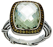 Peter Thomas Roth Sterling 7.80 ct Prasiolite Cocktail Ring - J392144