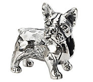 Prerogatives Sterling Boston Terrier Bead - J299545