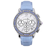 Judith Ripka Stainless Steel Diamonique Chronograph Watch - J385345