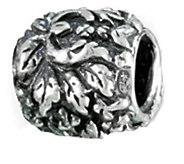 Prerogatives Sterling Round Flower Bead - J109246
