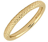 Simply Stacks Sterling 18K Yellow Gold-Plated 2.25mm Ring - J298046