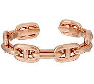 As Is Bronzo Italia Polished Status Marine Link Cuff Bracelet - J327346