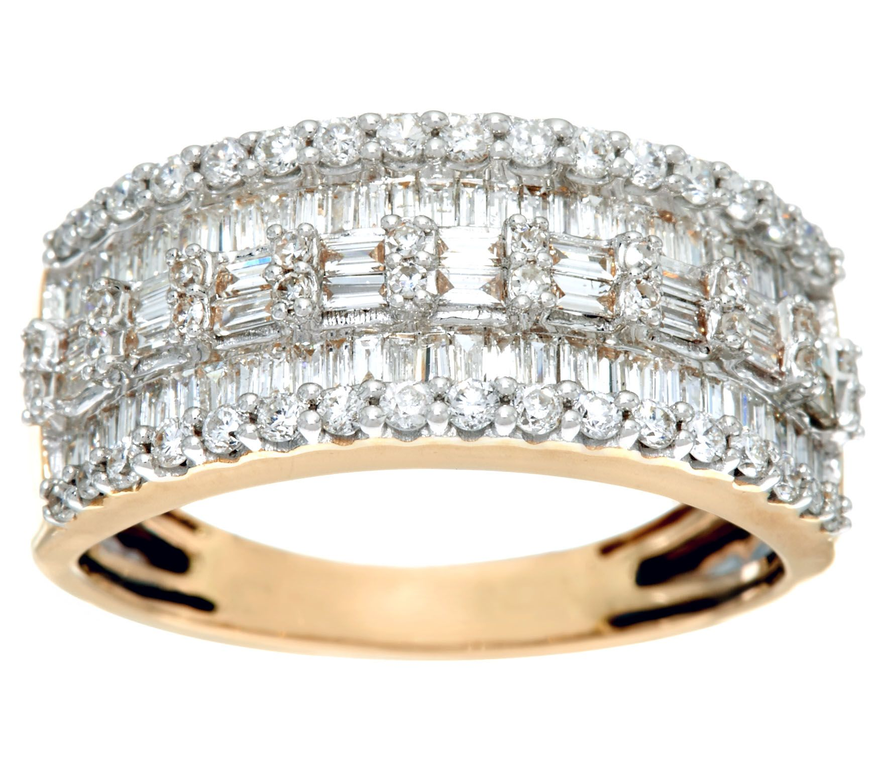 fine and white jewelry bands band wide round diamond anniversary gold baguette
