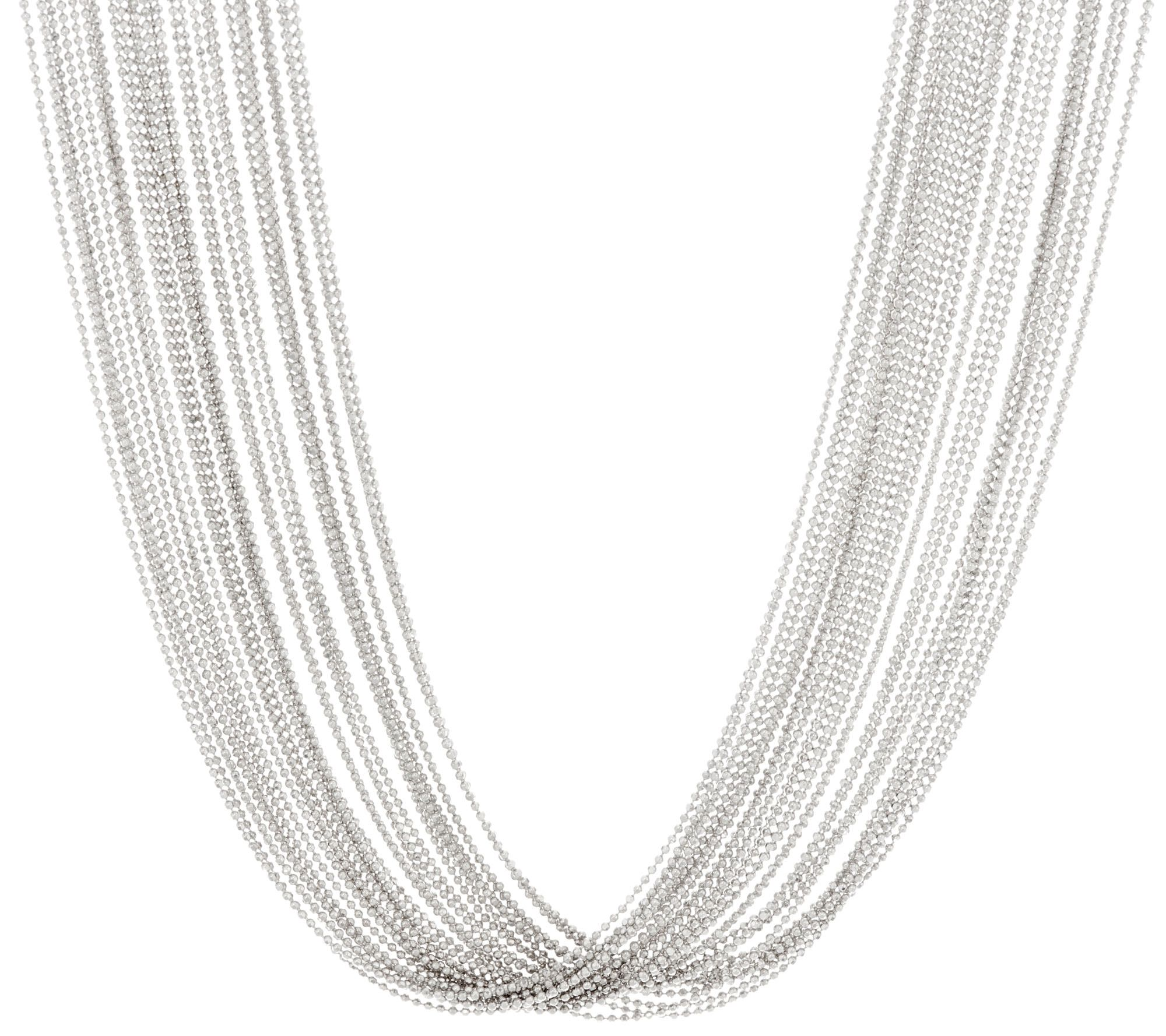draperie white jewelry decolette necklace strand cartier de yellow diamond gold and multi