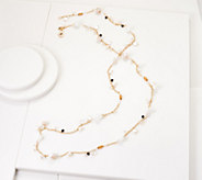 BROOKE SHIELDS Timeless 50 Multi Bead Link Necklace - J354546