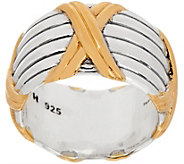 Peter Thomas Roth Sterling Silver & 18K Clad Wide Band Ring - J355746