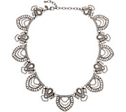 LOGO Lavish Links by Lori Goldstein Art Deco Estate Necklace - J356546