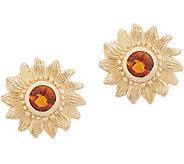 Adi Paz 14K Gold Gemstone Sunburst Stud Earrings - J357746