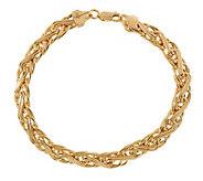 EternaGold 7 Bold Status Link Bracelet 14K Gold - J392046