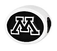 Sterling Silver University of Minnesota Bead - J300747