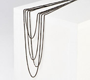 Italian Silver 100 Box Chain Necklace, Sterling Silver 27.0g - J361147