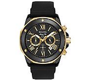 Bulova Mens Marine Star Two-Tone Chronograph Watch - J384447
