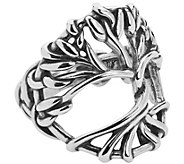 American West Sterling Tree of Life Ring - J385247