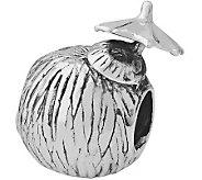 Prerogatives Sterling Coconut Drink Bead - J110048
