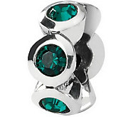Prerogatives Sterling Swarovski Crystal Birthstone Bead - J110648