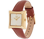 RLM Square Leather Strap Watch - J354648