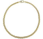 Judith Ripka Verona 14K Clad 20 Basket-Weave Necklace, 56.8g - J381448