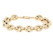 EternaGold 8 Bold Polished Rolo Bracelet, 14K - J392048
