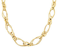 EternaGold 20 Textured Multi-link Necklace 14KGold, 10.1g - J337449