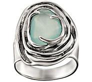 Hagit Sterling Chalcedony Ring - J390449