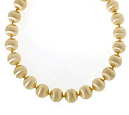 Arte dOro 20 Bold Satin Bead Necklace, 18K Gold, 74.1g - J112250