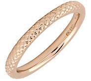 Simply Stacks Sterling 18K Rose Gold-Plated 2.25mm Ring - J298050