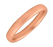 Simply Stacks Sterling 18K Rose Gold-Plated 3.25mm Ring - J298950