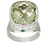 JMH Jewellery Sterling Silver and Gemstone Ring - J334250