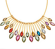As Is LOGO Links by Lori Goldstein Radiant Rainbow Necklace - J353850