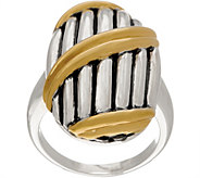 Peter Thomas Roth Sterling Silver & 18K Clad Shield Ring - J355750