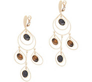 Daniela Coaro Gemstone Chandelier Earrings, 14K Gold - J357850