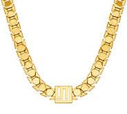 Stella Valle Logo Chain Necklace by Lori Greiner - J323751