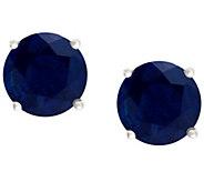 Premier 1.00 cttw Sapphire Stud Earrings, 14K G old - J338151