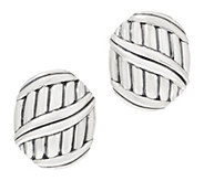 Peter Thomas Roth Sterling Silver Shield Earrings - J355751