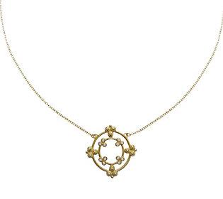 Judith Ripka 14K Gold & Diamond 16
