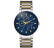 Bulova Mens Stainless Two-Tone Bracelet Watch - J384451