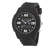 Wrist Armor Mens U.S. Air Force C27 Black & White Watch - J316352