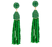 BaubleBar Beaded Pinata Tassel Drop Earrings - J335452