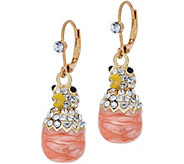 Kirks Folly Chick-A-Dee Leverback Earrings - J353852