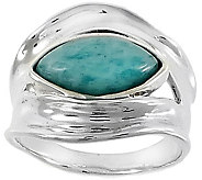 Hagit Sterling & Amazonite Ring - J376752