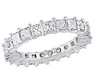 Affinity 18K 2-9/10 cttw Princess Diamond Eternity Band Ring - J381352