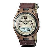Casio Mens World Time Ana-Digi Beige Watch - J106953