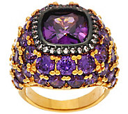 As Is The Elizabeth Taylor 12 ct Simulated Amethyst Ring - J353353