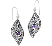 Or Paz Sterling Silver and Gemstone Dangle Earrings - J355953