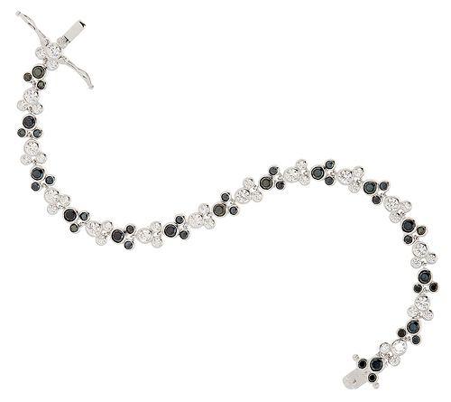 As Is Mickey's 90th Birthday DMQ Black & White Bracelet