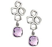 Hagit Sterling Gemstone Dangle Earrings - J390453