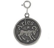 Sterling Zodiac Aries Charm - J113654